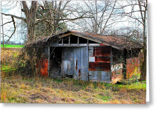 Old Shed 19 Greeting Card by Andy Savelle