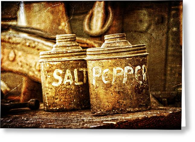 Old Spices Greeting Card