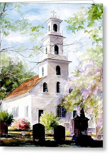 Old St. David's Church Greeting Card