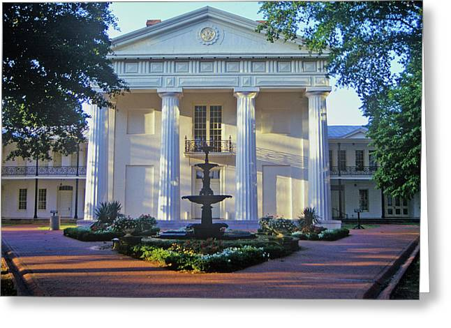 Old State House In Little Rock, Arkansas Greeting Card