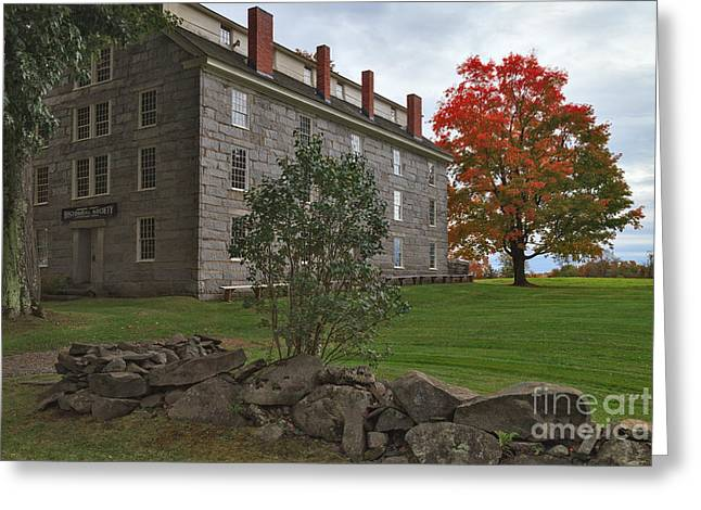 Old Stone House Greeting Card by Charles Kozierok