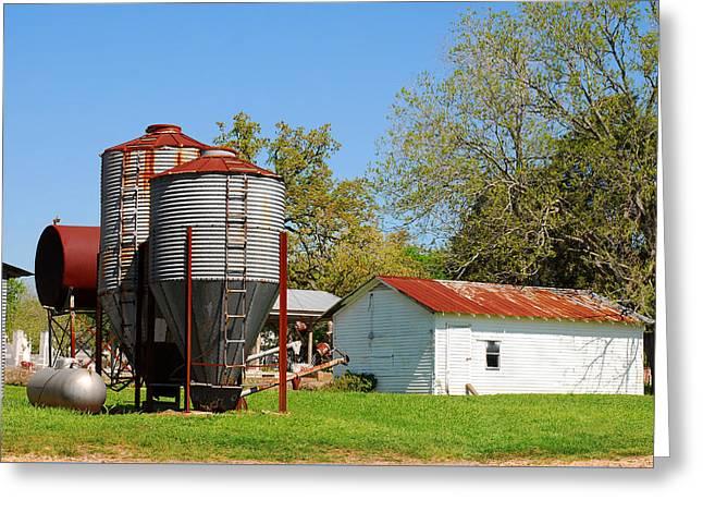Old Texas Farm Greeting Card