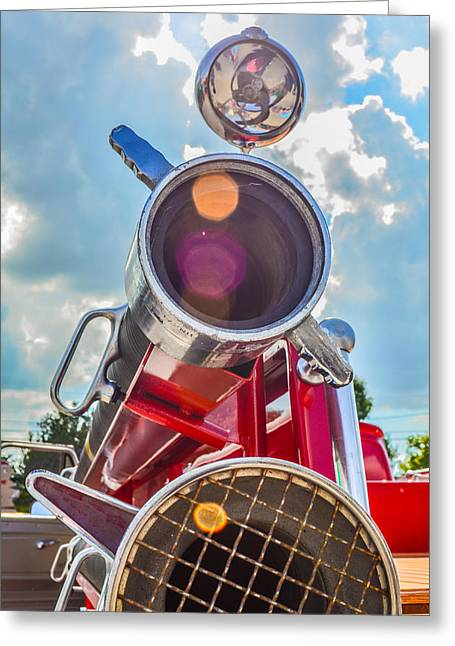 Old Time Fire Truck Series Greeting Card by Kelly Kitchens