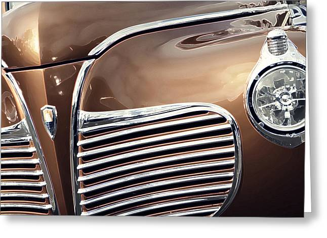 Old Timer Grille Greeting Card