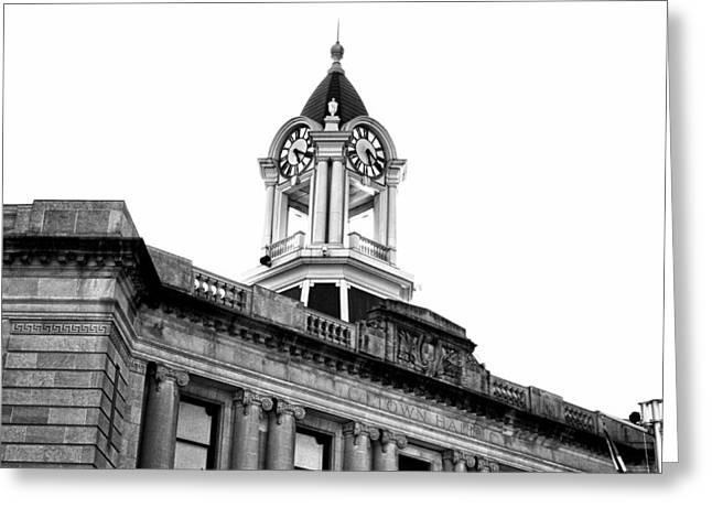 Old Town Hall In Stamford Greeting Card