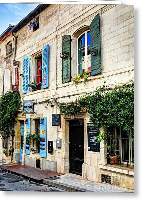Old Town Of Arles 3 Greeting Card