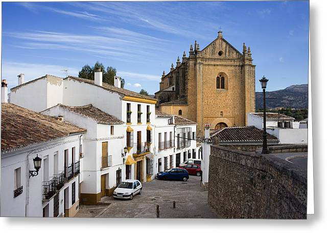 Old Town Of Ronda Greeting Card by Artur Bogacki