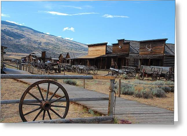 Old Trail Town   Greeting Card by Dany Lison
