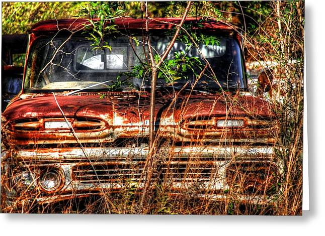 Old Truck 02 Greeting Card by Andy Savelle