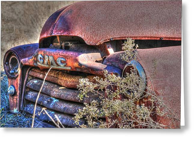 Old Truck 03 Greeting Card by Andy Savelle