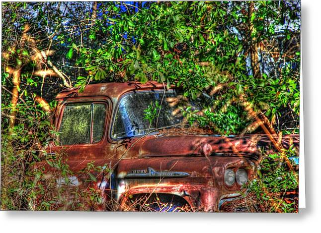 Old Truck 05 Greeting Card by Andy Savelle