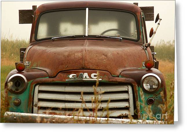 Greeting Card featuring the photograph Old Truck by Steven Reed