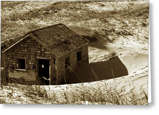 Old Tyme Cape Cod Greeting Card