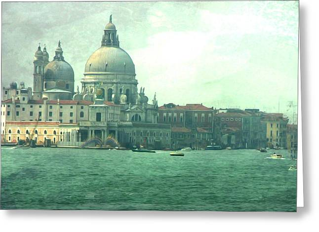Greeting Card featuring the photograph Old Venice by Brian Reaves