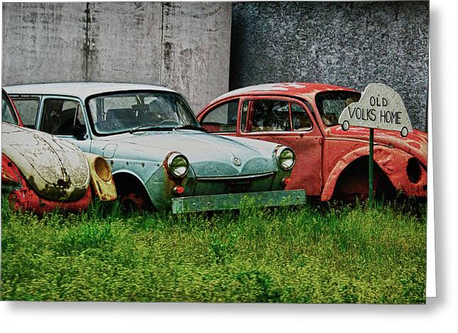 Greeting Card featuring the photograph Old Volks Home by Trever Miller