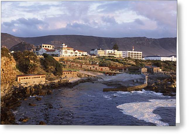 Old Whaling Station On The Coast Greeting Card by Panoramic Images