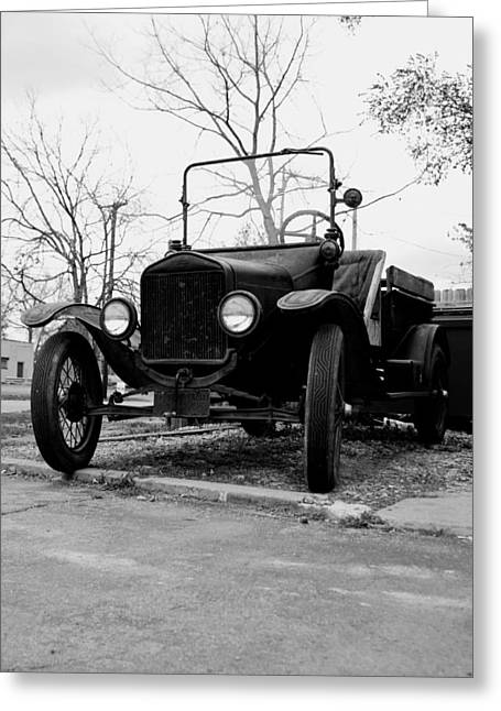 Old Wheels Greeting Card by Off The Beaten Path Photography - Andrew Alexander