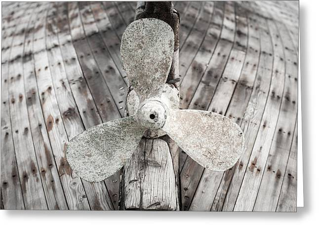 Propeller Greeting Card