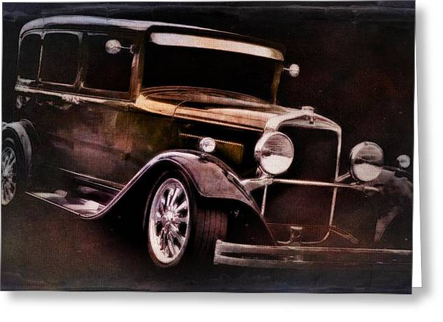Vehicles Greeting Card featuring the photograph Oldie by Aaron Berg