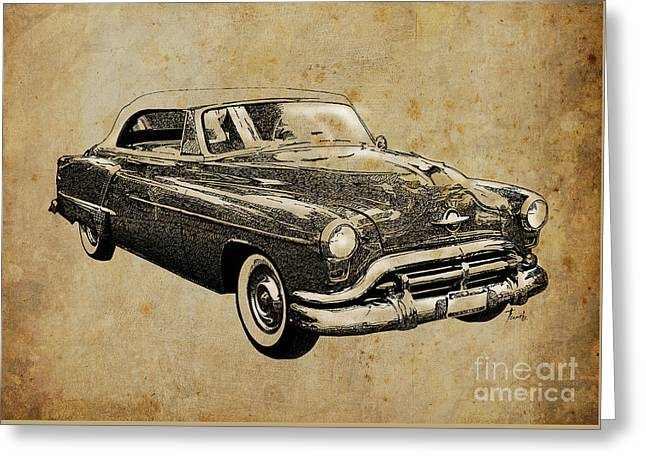 Oldsmobile Greeting Card by Pablo Franchi
