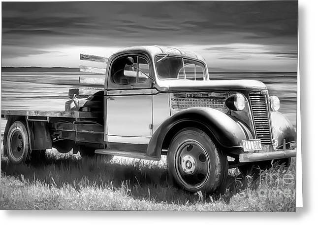 Oldsmobile Greeting Card by Shannon Rogers