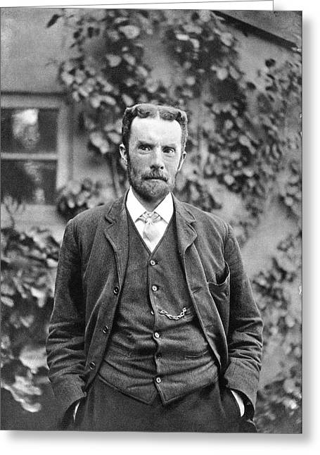 Oliver Heaviside Greeting Card by Science Photo Library