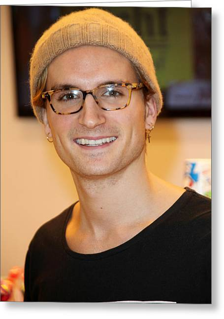 a50ed48c75 Oliver Proudlock 1 Greeting Card by Jez C Self