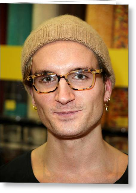 c11d768812 Oliver Proudlock 3 Greeting Card by Jez C Self