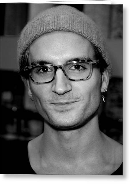 43e6efbb76 Oliver Proudlock 4 Greeting Card by Jez C Self