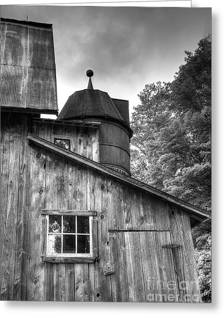 Olsen Barn At Port Oneida Greeting Card