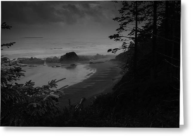 Olympic National Park Greeting Card by Jean-Jacques Thebault