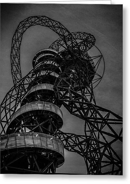 Olympic Park London Greeting Card by Martin Newman
