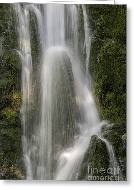 Olympic Waterfall Greeting Card