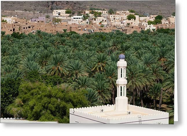 Oman Greeting Card by Sergio Pitamitz