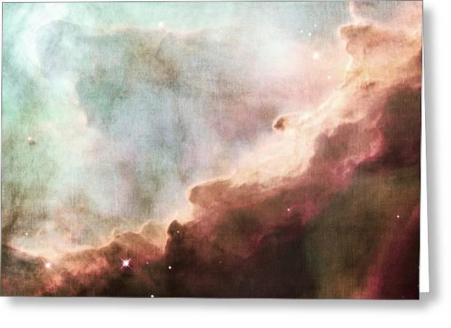 Omega Nebula Greeting Card