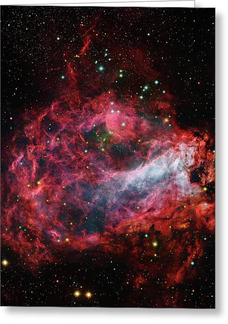 Omega Nebula Greeting Card by Robert Gendler