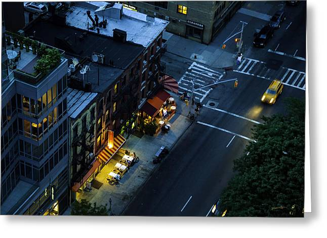 On 2nd Avenue - Manhattan Greeting Card by Madeline Ellis