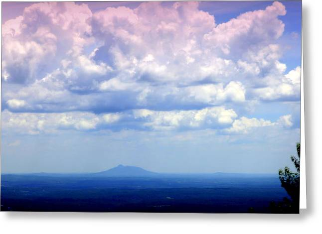 On A Clear Day Greeting Card by Karen Wiles