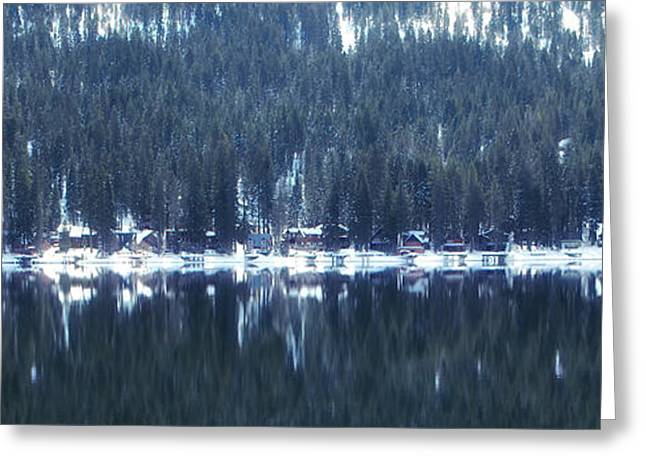 On Donner Greeting Card by Donna Blackhall
