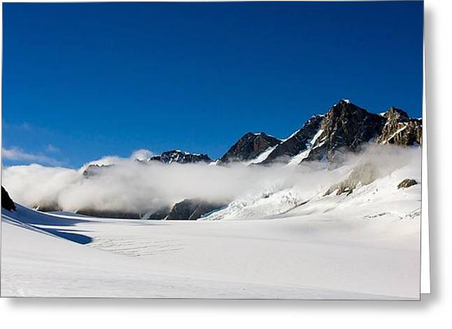 On Fox Glacier Greeting Card