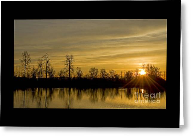 On Golden Pond Greeting Card by Nick  Boren