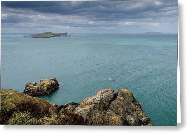 On Howth Head Greeting Card