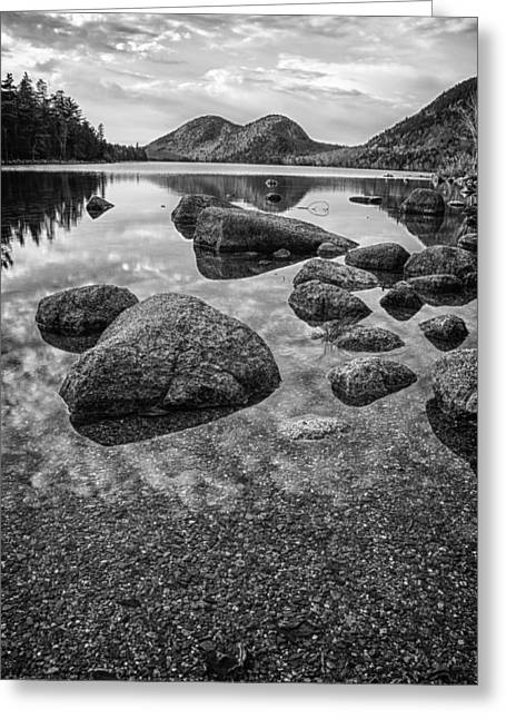 On Jordan Pond Greeting Card