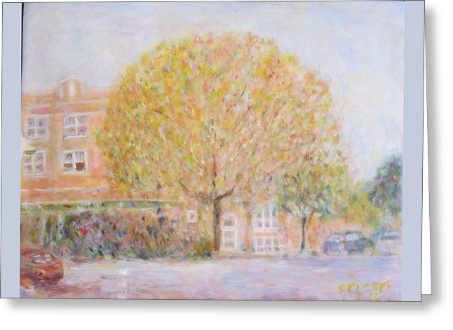Leland Avenue In Chicago Greeting Card
