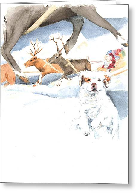 On Our Way Greeting Card by Jan Irving