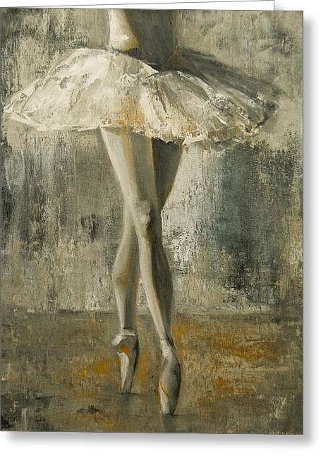 En Pointe Greeting Card