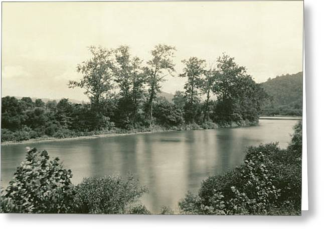 On The Conemaugh Near New Florence, Pennsylvania William H Greeting Card by Litz Collection