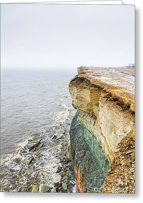 On The Edge Of The World Greeting Card