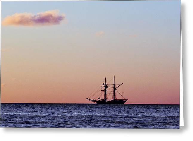 On The Horizon Greeting Card
