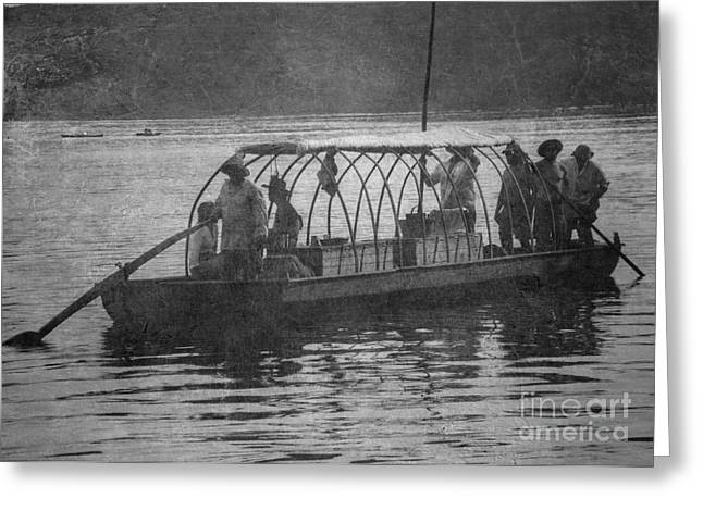 Greeting Card featuring the photograph On The James 2 by Pete Hellmann